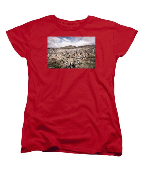 Women's T-Shirt (Standard Cut) featuring the photograph Desolation by Andrew Matwijec