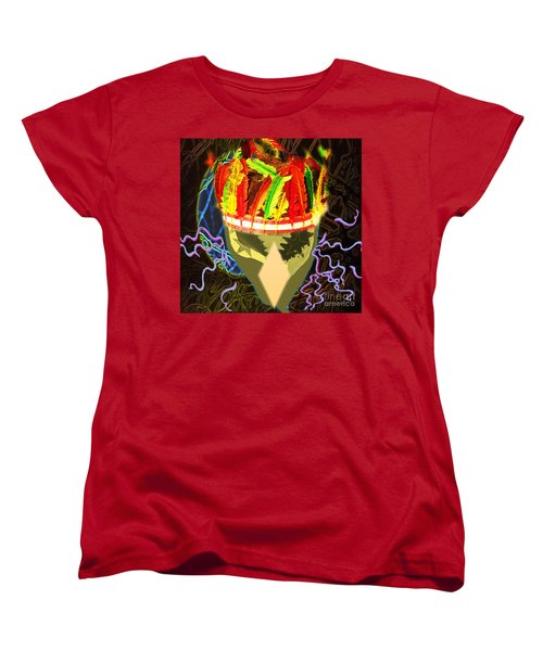 Destruction Women's T-Shirt (Standard Cut) by Belinda Threeths