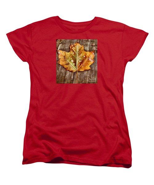 Dew Diligence Women's T-Shirt (Standard Cut) by Heather King