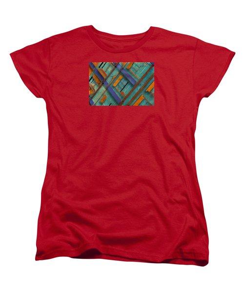 Diagonal Women's T-Shirt (Standard Cut) by Don Gradner