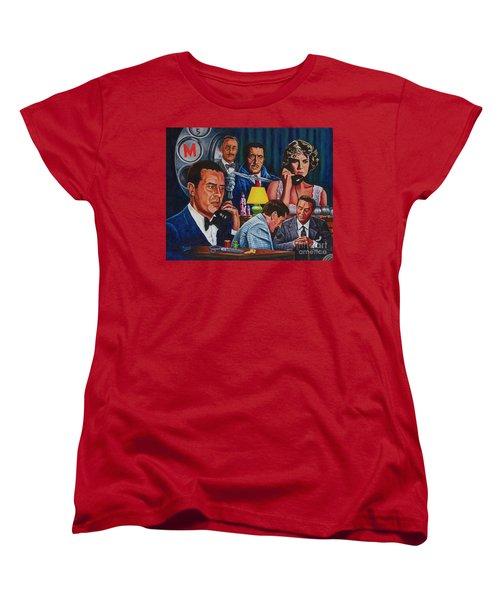 Dial M For Murder Women's T-Shirt (Standard Cut) by Michael Frank