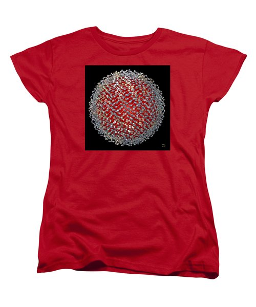 Women's T-Shirt (Standard Cut) featuring the digital art Differentiation  II by Manny Lorenzo