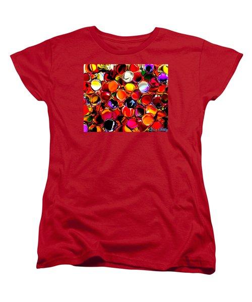 Women's T-Shirt (Standard Cut) featuring the digital art Digital2012b by Loxi Sibley