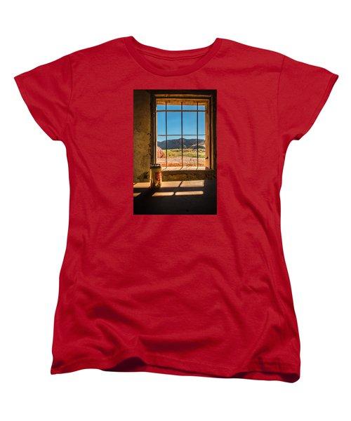 Don't Mess With Texas Women's T-Shirt (Standard Cut) by Allen Biedrzycki