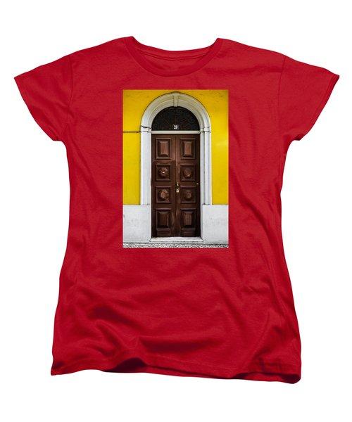 Door No 20 Women's T-Shirt (Standard Cut) by Marco Oliveira