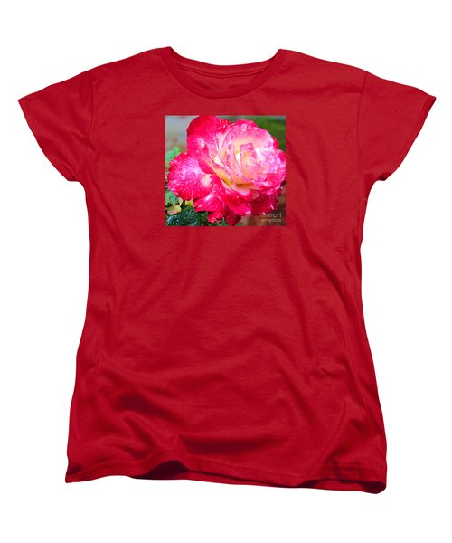 Women's T-Shirt (Standard Cut) featuring the photograph Double Delight by Patricia Griffin Brett