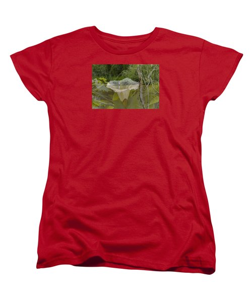 Women's T-Shirt (Standard Cut) featuring the photograph Double by Leif Sohlman