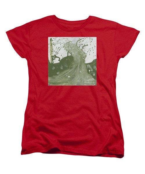 Double Up Wave Women's T-Shirt (Standard Cut) by Talisa Hartley