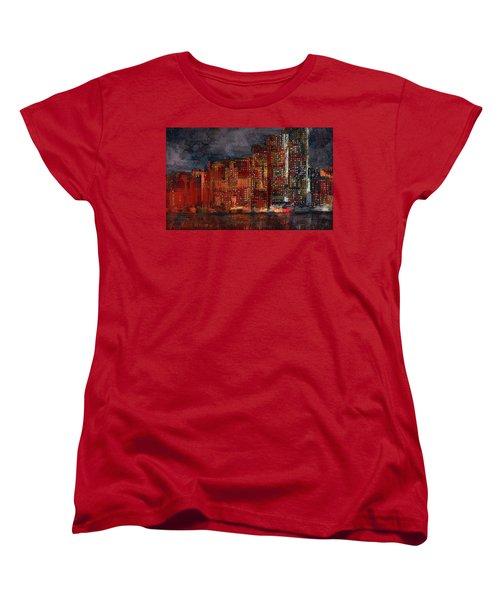 Downtown Women's T-Shirt (Standard Cut) by Alex Galkin