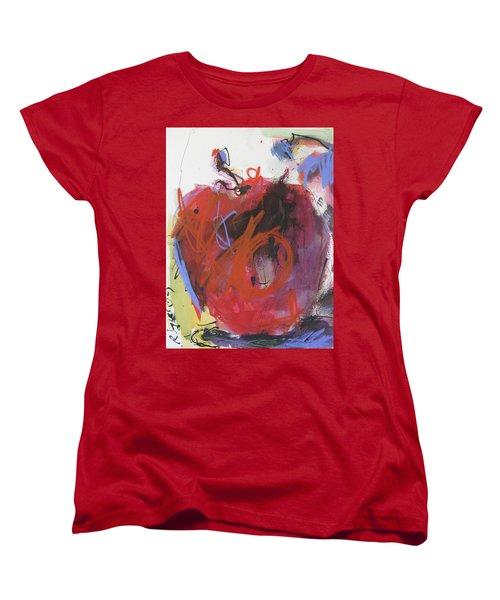 Women's T-Shirt (Standard Cut) featuring the painting Dr. Repellent by Robert Joyner