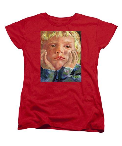 Dreamer Women's T-Shirt (Standard Cut) by Janet Garcia