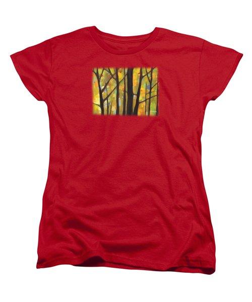 Dreaming Trees 1 Women's T-Shirt (Standard Cut) by Hailey E Herrera
