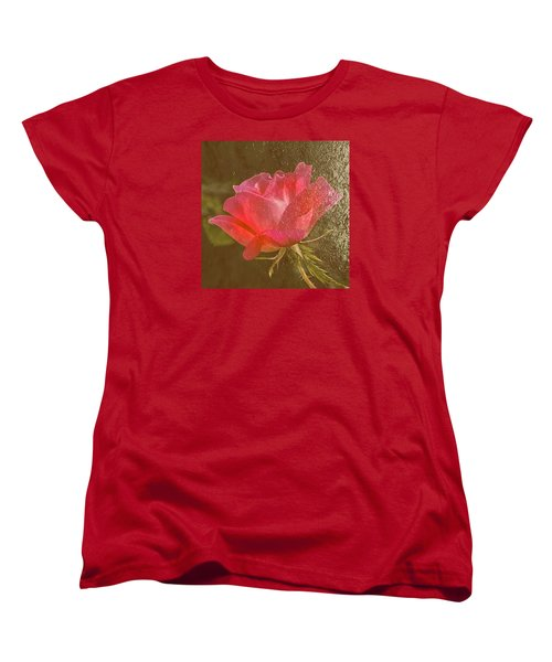 Women's T-Shirt (Standard Cut) featuring the photograph Dressed In Gold by Susi Stroud