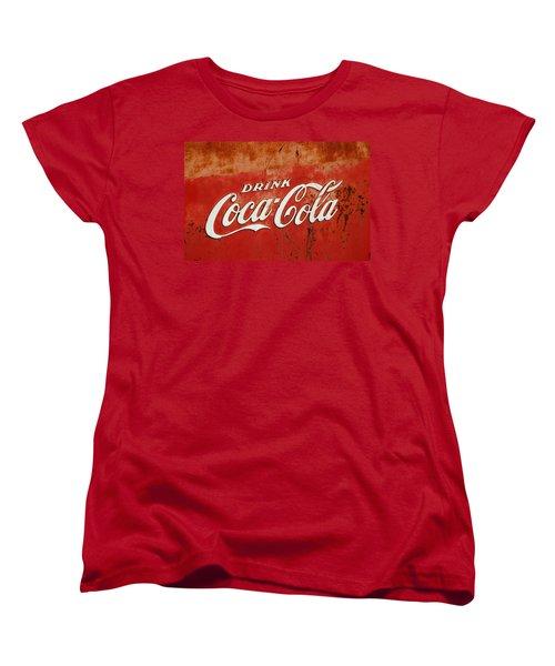 Drink Coca Cola  Women's T-Shirt (Standard Cut) by LeeAnn McLaneGoetz McLaneGoetzStudioLLCcom
