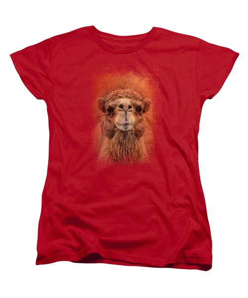 Dromedary Camel Women's T-Shirt (Standard Cut) by Jai Johnson