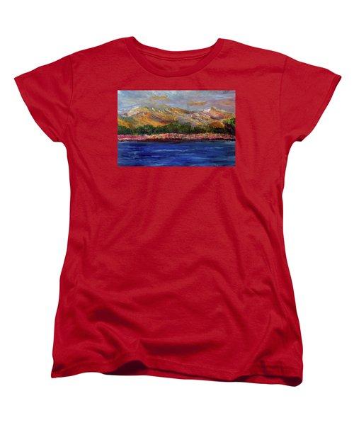 Dunes At Pilgrim Lake Women's T-Shirt (Standard Cut)