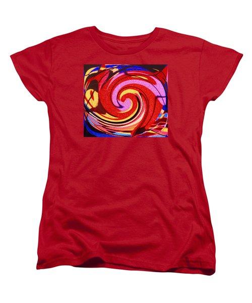 Eagle And Bear Women's T-Shirt (Standard Cut) by Ian  MacDonald