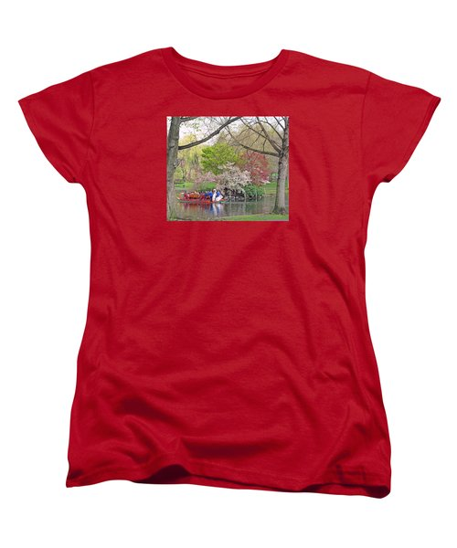 Early Spring Boston Women's T-Shirt (Standard Cut) by Barbara McDevitt