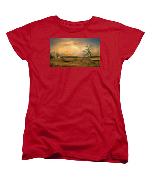 Early Spring Storm Women's T-Shirt (Standard Cut) by John Rivera