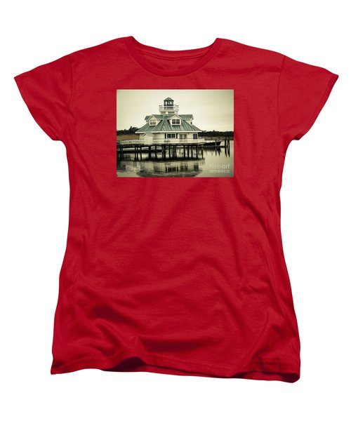 Eating On The River Women's T-Shirt (Standard Cut) by Melissa Messick