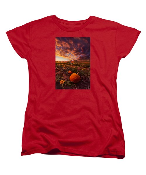 Echos You Can See Women's T-Shirt (Standard Cut) by Phil Koch