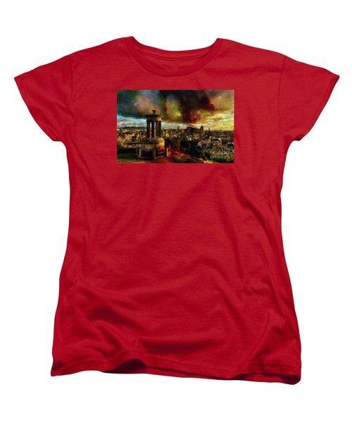 Edinburgh Scotland 01 Women's T-Shirt (Standard Cut) by Gull G