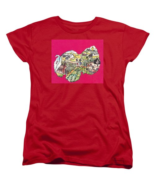 Education Et Citoyennete Au Rwanda Women's T-Shirt (Standard Cut)