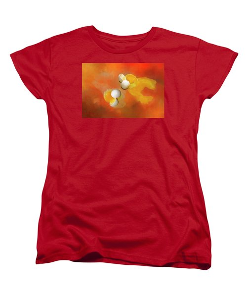 Women's T-Shirt (Standard Cut) featuring the photograph Eggs by Carolyn Marshall