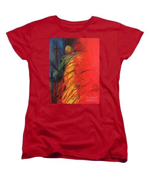 Eight Of Swords Women's T-Shirt (Standard Cut) by Daun Soden-Greene