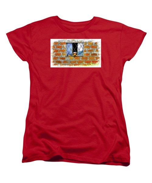 El Altar Kid 872 Women's T-Shirt (Standard Cut) by Al Bourassa