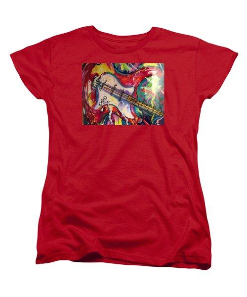 Electric Fusion  Women's T-Shirt (Standard Cut) by Heather Roddy