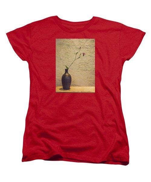 Elegant Still Life Women's T-Shirt (Standard Cut) by Shirley Mangini