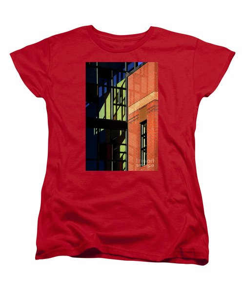 Women's T-Shirt (Standard Cut) featuring the photograph Element Of Reflection by Vicki Pelham