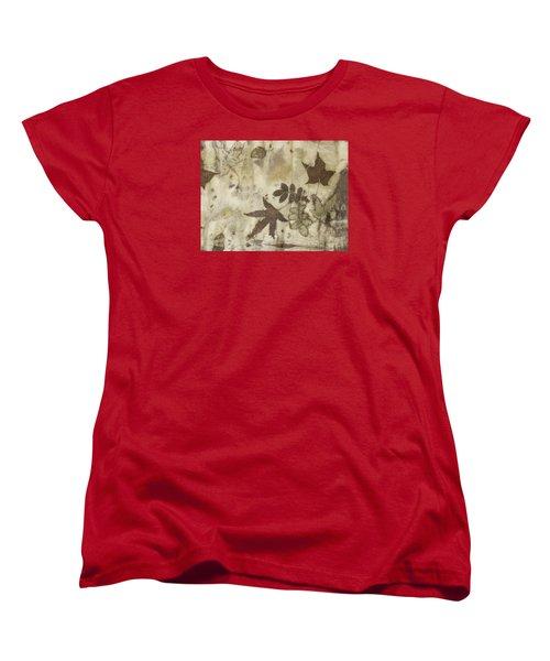 elements of autumn II Women's T-Shirt (Standard Cut) by Carolyn Doe