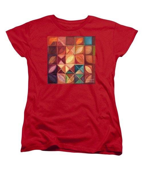 Elevating The Spirit - Finding Heart Women's T-Shirt (Standard Cut) by Kerryn Madsen-Pietsch