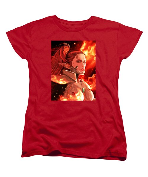 Elf Women's T-Shirt (Standard Cut) by Akyanyme