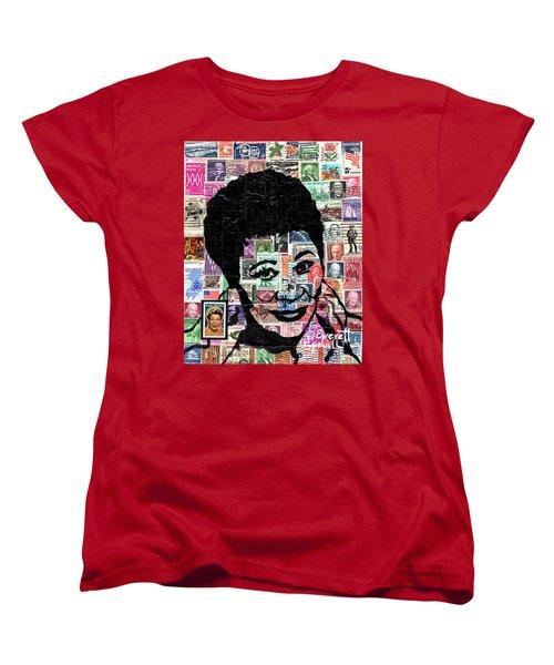 Lady Ella Fitzgerald Women's T-Shirt (Standard Cut) by Everett Spruill