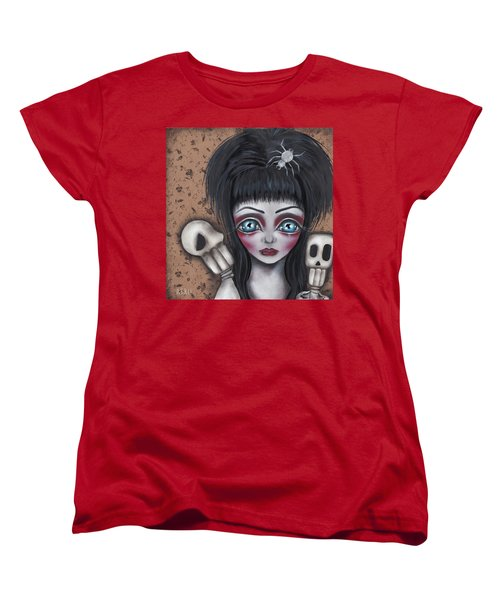 Elvira Women's T-Shirt (Standard Cut) by Abril Andrade Griffith