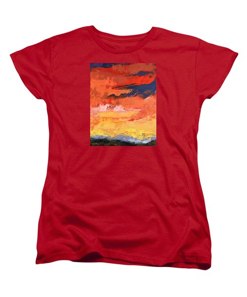 Embrace Women's T-Shirt (Standard Cut) by Nathan Rhoads