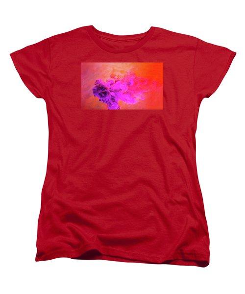 Emotional Fusion  - Abstract Art Photography Women's T-Shirt (Standard Cut) by Modern Art Prints