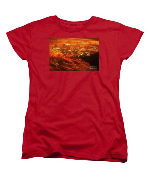 Emp Electromagnetic Pulse Women's T-Shirt (Standard Cut) by Craig Wood