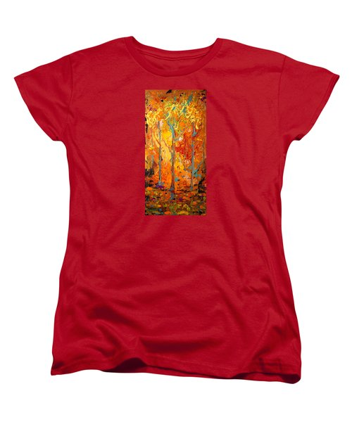 Enchanted Women's T-Shirt (Standard Cut) by Alan Lakin