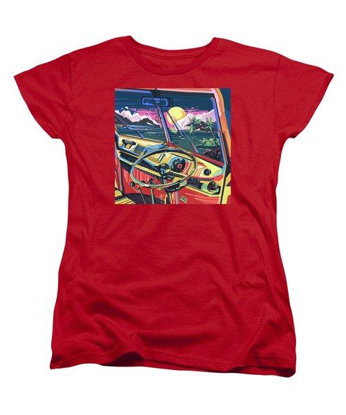 End Of Summer Women's T-Shirt (Standard Cut) by Bekim Art