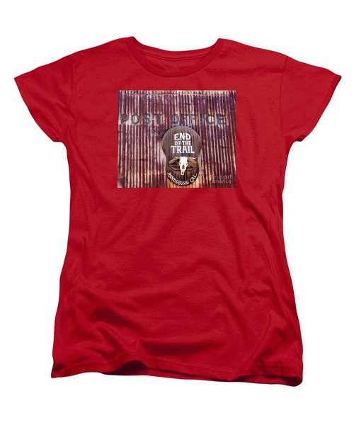 End Of The Trail Women's T-Shirt (Standard Cut) by Suzanne Lorenz
