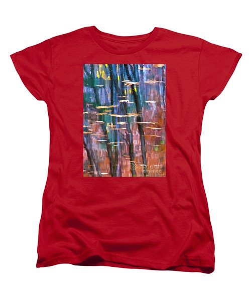 Women's T-Shirt (Standard Cut) featuring the photograph Enders Reflection by Tom Cameron