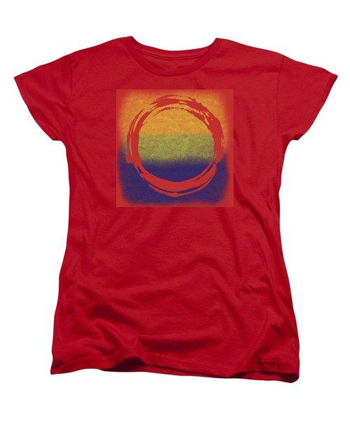 Enso 7 Women's T-Shirt (Standard Cut) by Julie Niemela