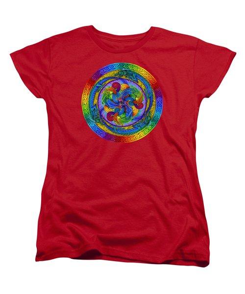 Epiphany Women's T-Shirt (Standard Cut) by Rebecca Wang