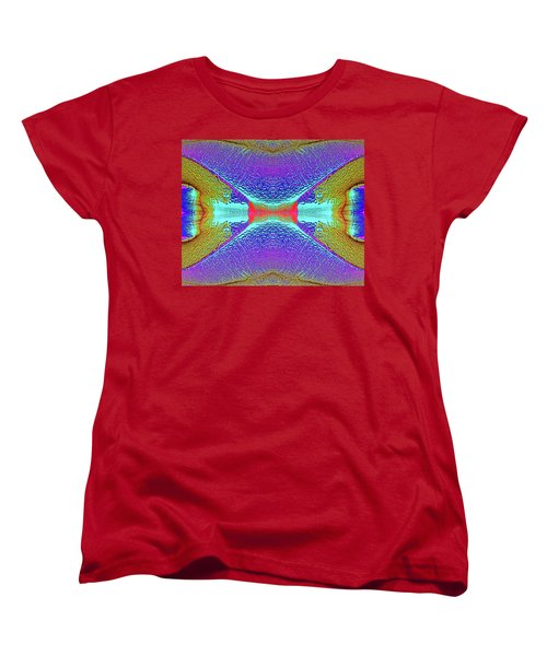 Women's T-Shirt (Standard Cut) featuring the photograph Erosion  by Tony Beck