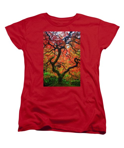 Women's T-Shirt (Standard Cut) featuring the photograph Ethereal Tree Alive by Darren White