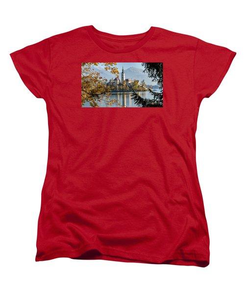 European Beauty Women's T-Shirt (Standard Cut) by Rod Jellison